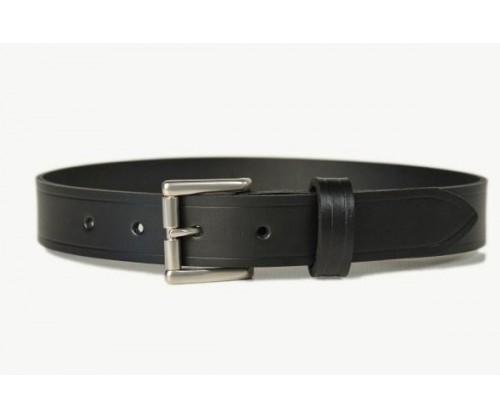 mens leather belt brown 30mm 107d