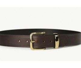 Mens Dress Belt Brown-Black 38mm-107NK