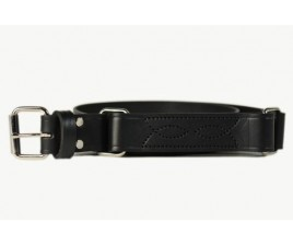 Mens Hobble/Ringer Belt with Pattern & Squares-108C